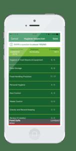 Food Safe System App