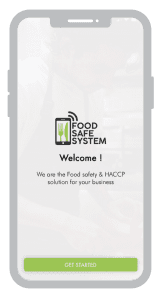 App di sistema sicuro per gli alimenti